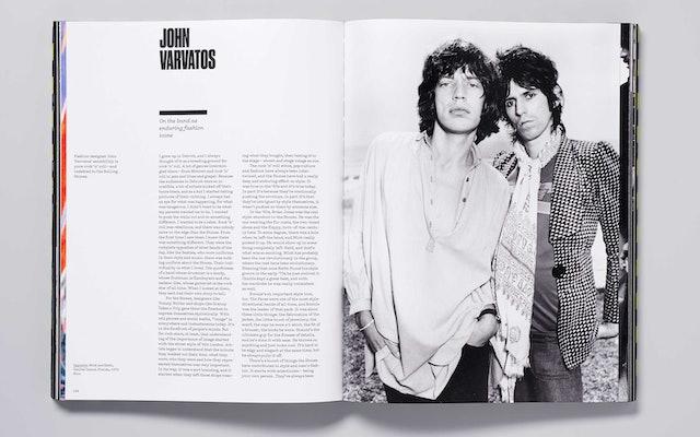 Fashion designer John Varvatos writes on the Stones as enduring fashion icons.