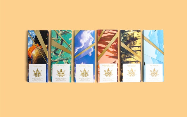 There are six original flavors of medically and recreationally dosed cannabis chocolate bars.