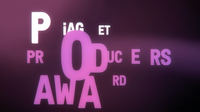 From the animation announcing the Piaget Producers Award.