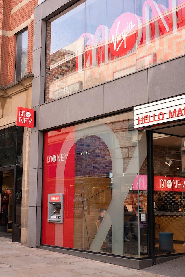 Virgin Money store Manchester