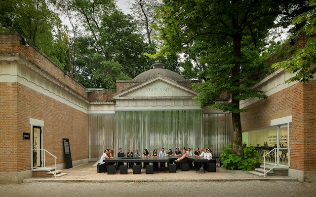 OfficeUS installed at the U.S. Pavilion at the 2014 Venice Architecture Biennale.