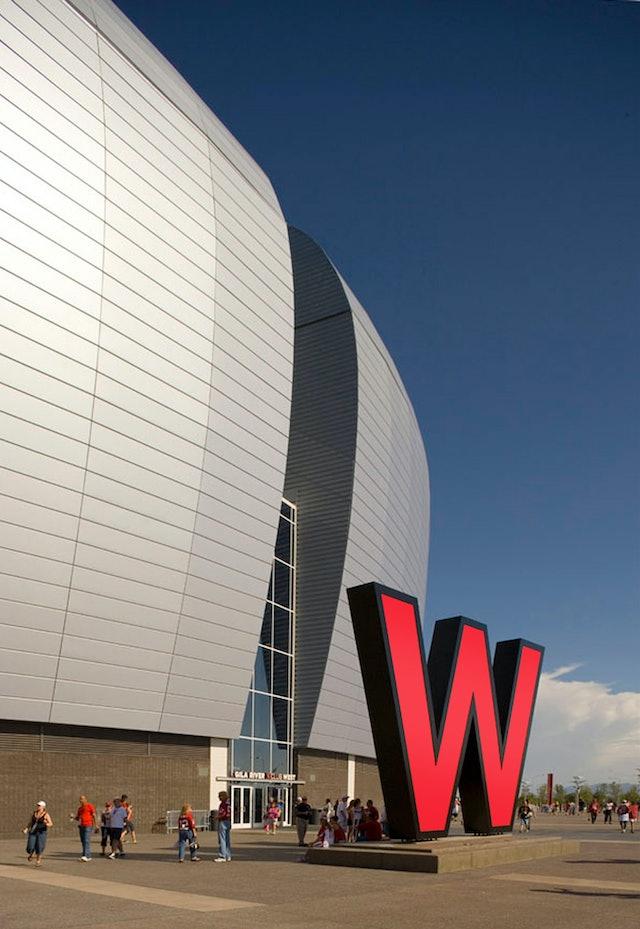 huge sale 48189 d11da University of Phoenix Stadium — Pentagram
