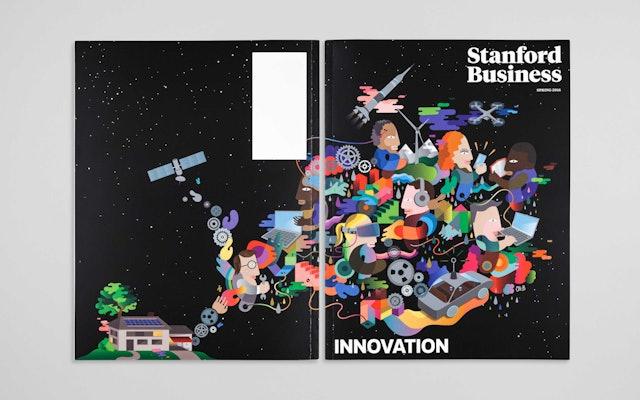 Stanford Business Magazine — Pentagram