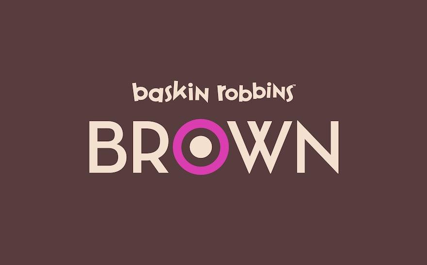 Baskin Robbins Brown Story Pentagram