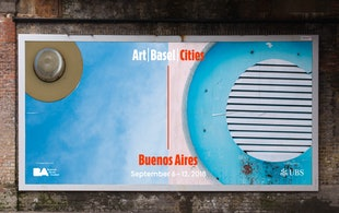 Art Basel Cities Billboard