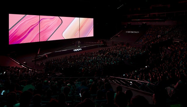 OPPO launch event in Shanghai.