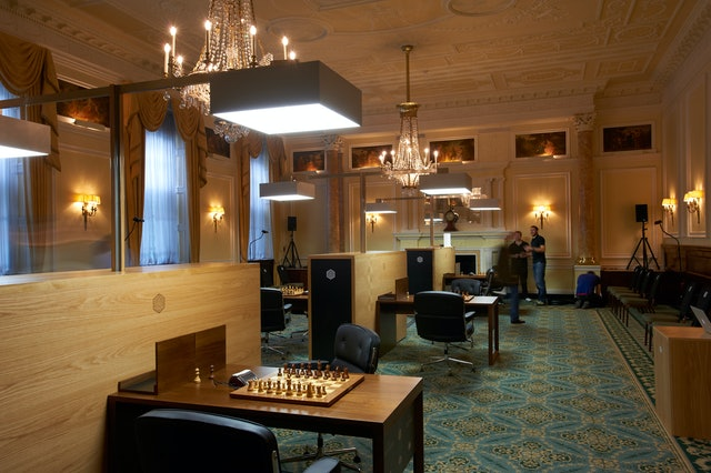 Chess Stations in Simpson's-in-the-Strand