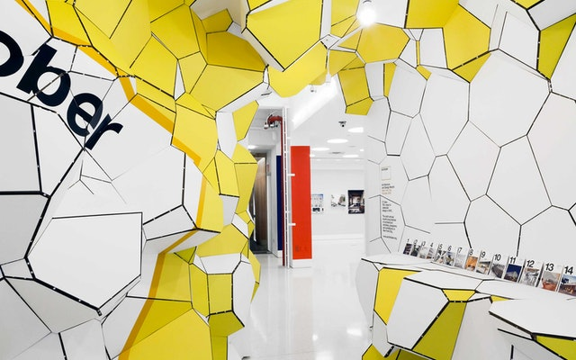 The architecture firm SOFTlab expanded the tessellation into a dimensional environment.