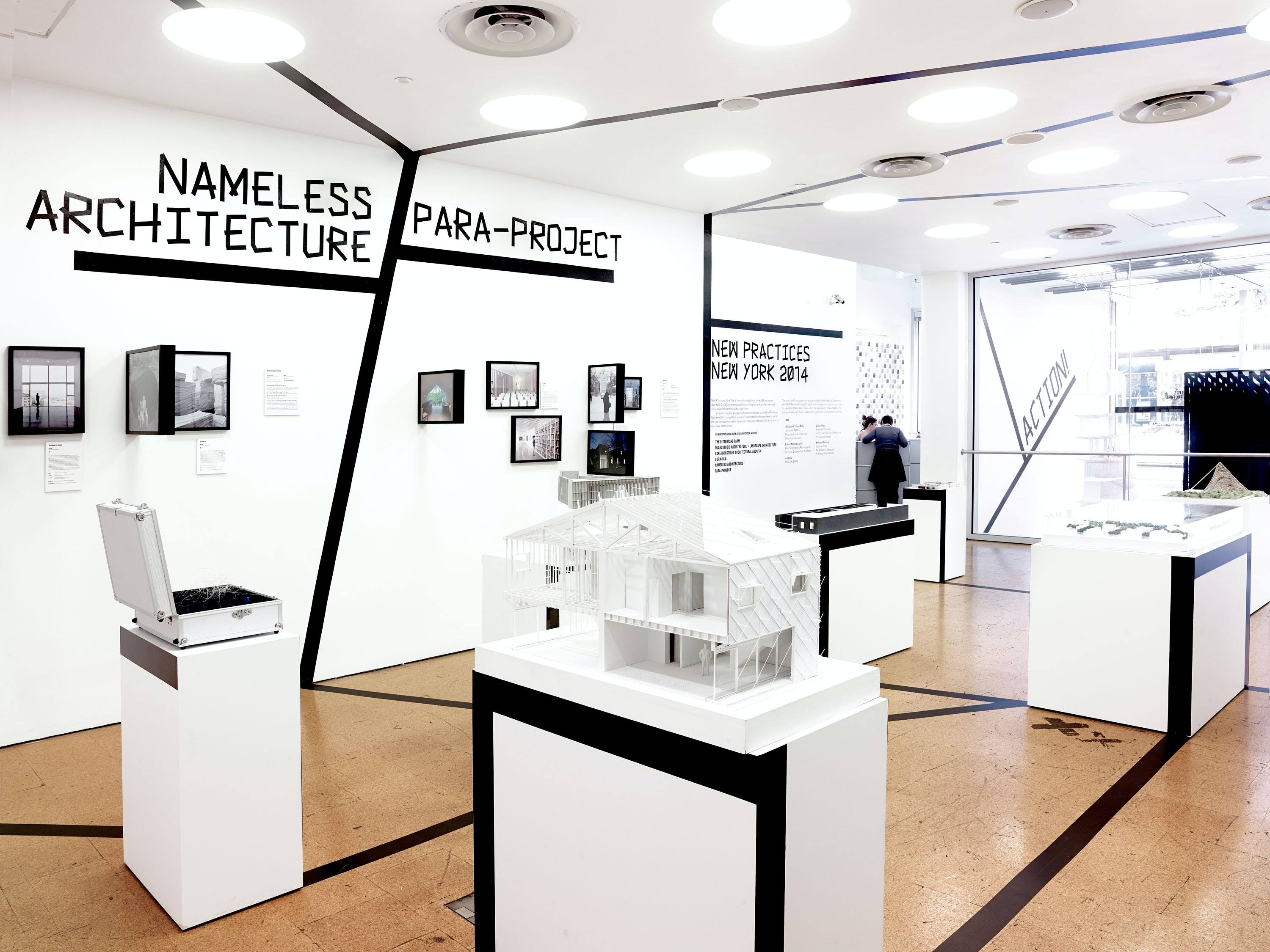 Identity And Exhibition Design For The Biennial Competition That Recognizes  And Promotes New And Innovative Architecture And Design Firms.