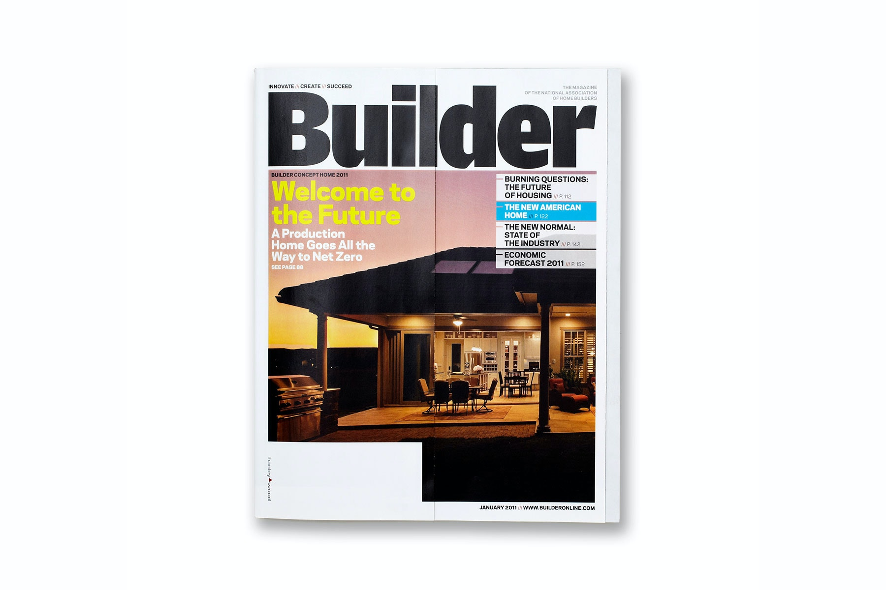 Builder magazine has undergone an extensive redesign