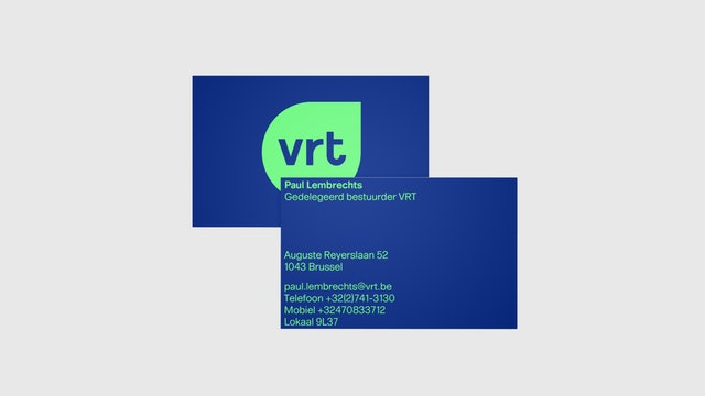 VRT business cards