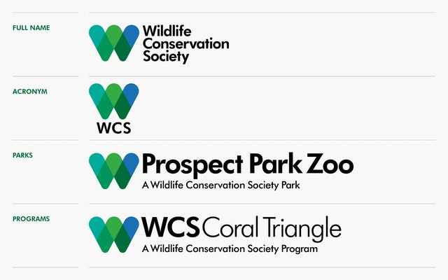 The symbol is used in conjunction with the full name, the acronym, or the names of parks & programs.