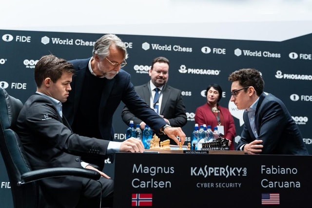 FULL INTERVIEW: Daniel Weil Makes The First Move (Carlsen vs Caruana)