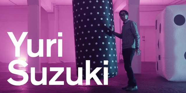Yuri Suzuki's talk at Pentagram London, 20th November (RSVP link in video)