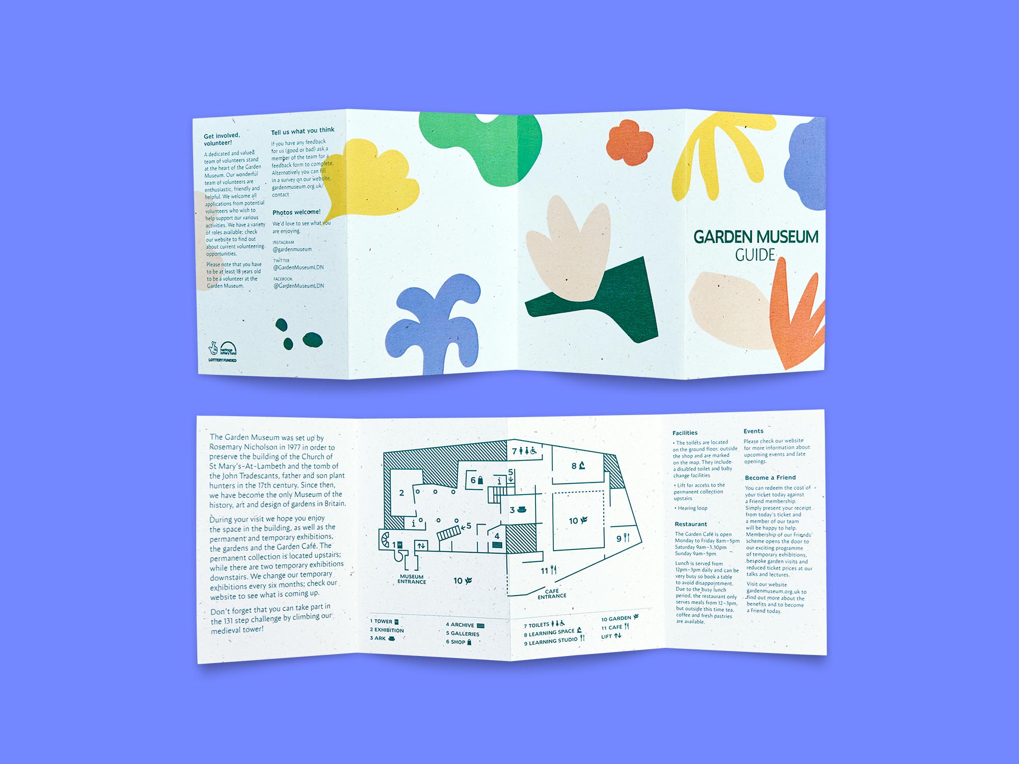 Garden Museum Pentagram Guide