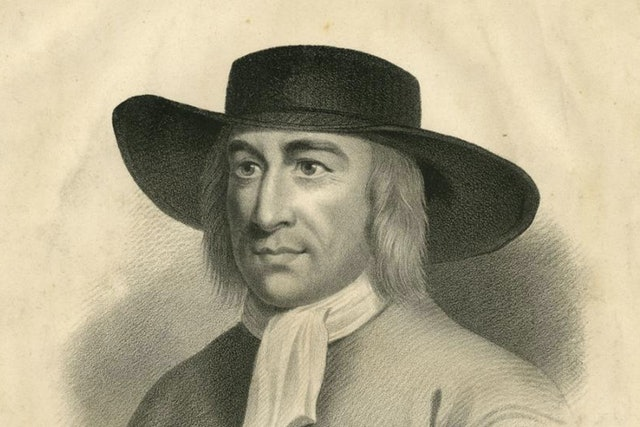 George Fox founded the Quakers in the 17th century.