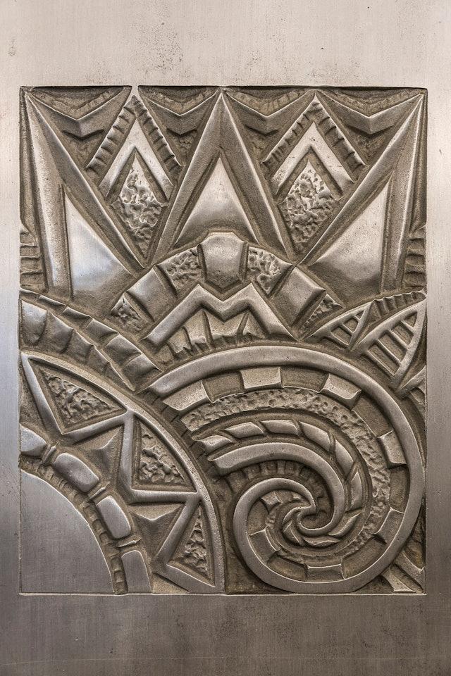 Art Deco reference detail of the original logo