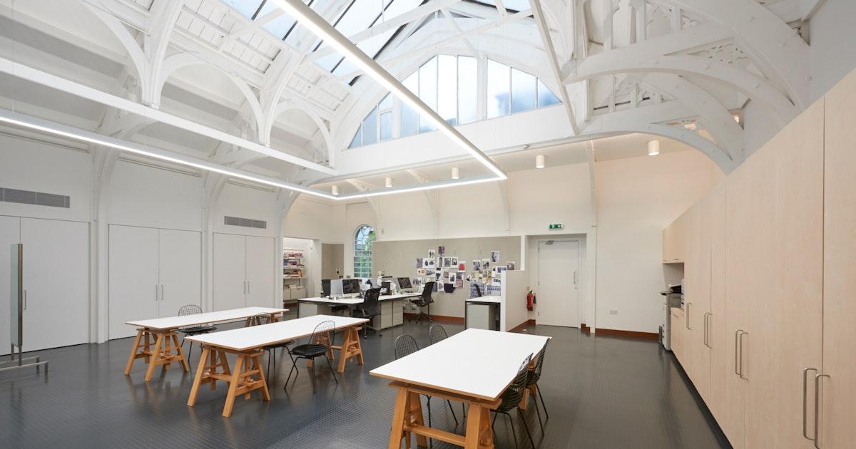 Margaret howell design studio pentagram for Studio interior design london
