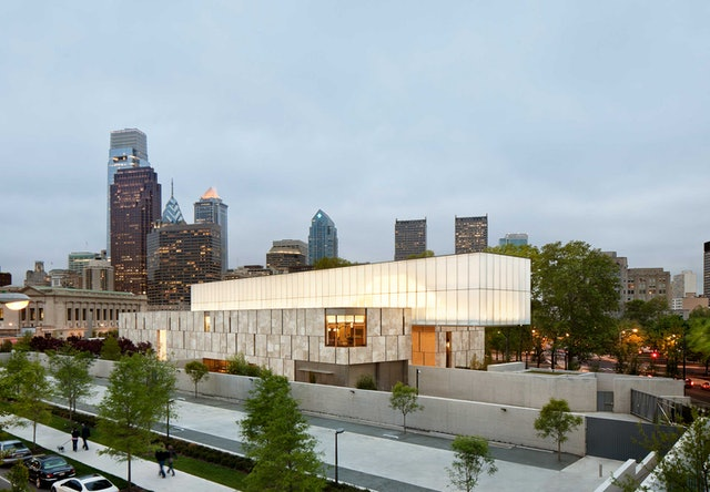 The new Barnes building in Philadelphia designed by Tod Williams Billie Tsien Architects.