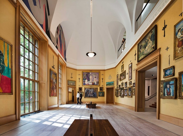The Main Room of the Collection Gallery. Photo by Michael Moran.