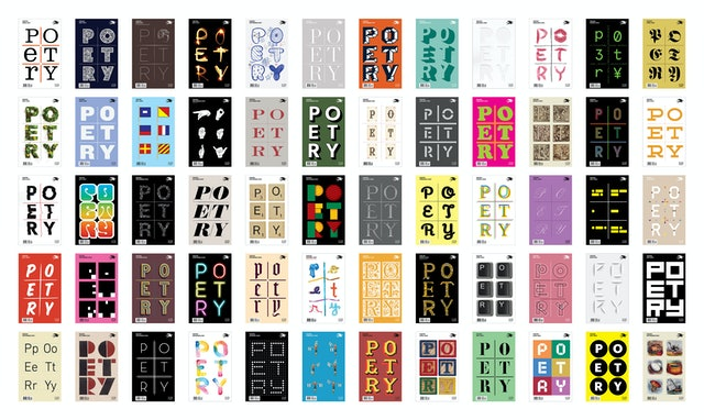Cover designs for the magazine.