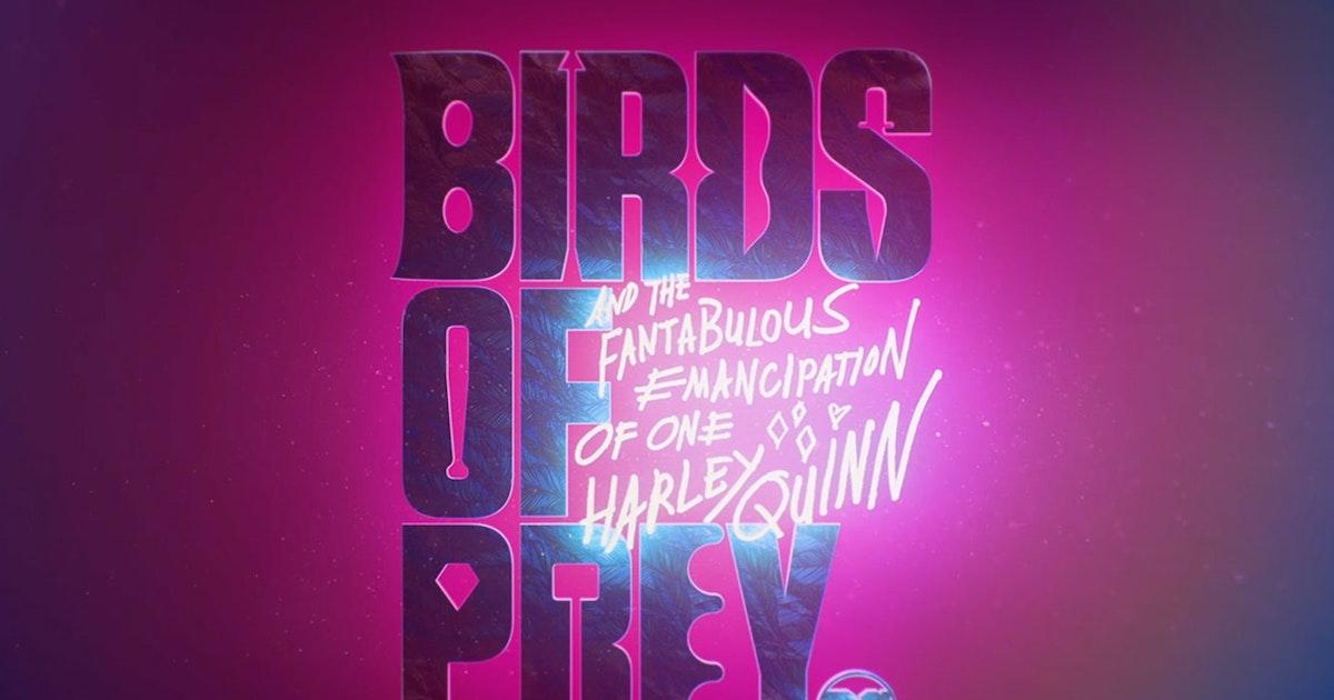 Birds Of Prey Story