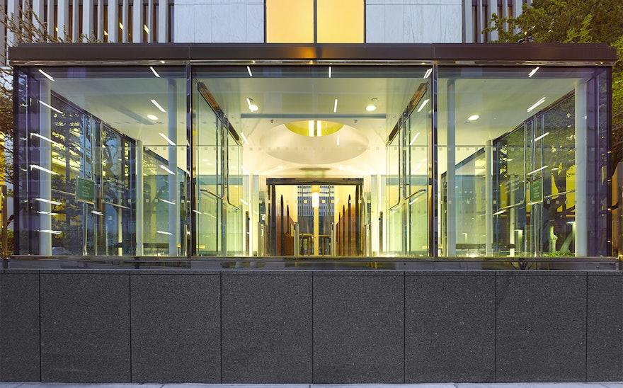 Apart Design Bank.One M T Plaza Buffalo Story Pentagram