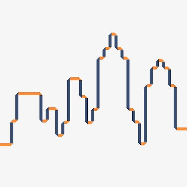 Skyline icon.
