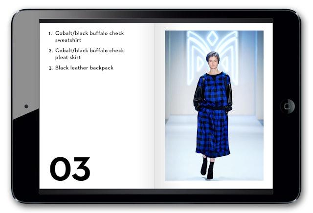 Digital look book.