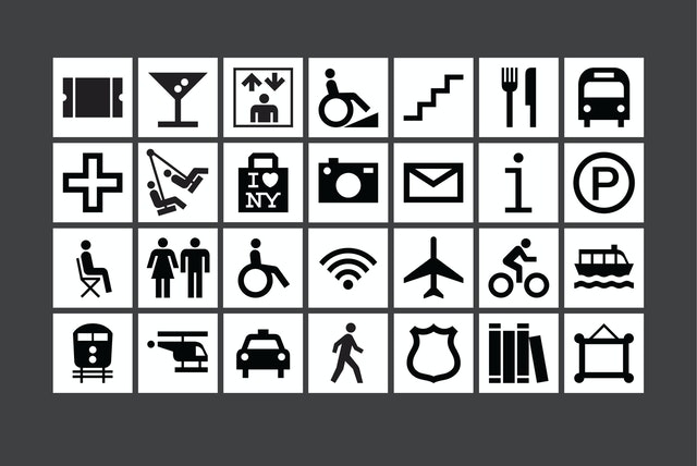 Icons for the program.