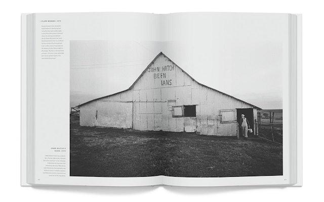 A dairy farmer's barn in Bern, Kansas, 1973.
