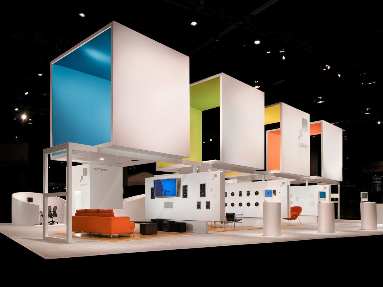 Pentagram Has Designed The Sonance Exhibition Environment At The 2007 CEDIA  Expo, As Well As The Companyu0027s New Graphic Identity And A Range Of  Architectural ...