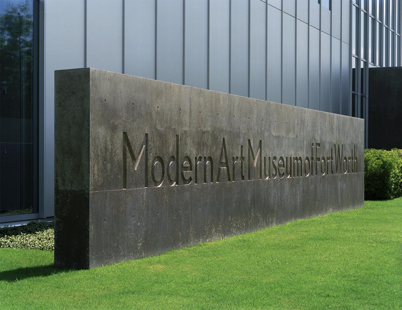 Fort Worth Modern Art Museum Logo